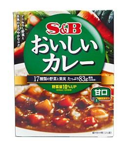 SBなっとくのおいしいカレー 甘口180g【イージャパンモール】