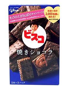 グリコ ビスコ 焼きショコラ 15枚【イージャパンモール】