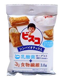グリコ ビスコ シンバイオティクス さわやかなヨーグルト味 10枚【イージャパンモール】