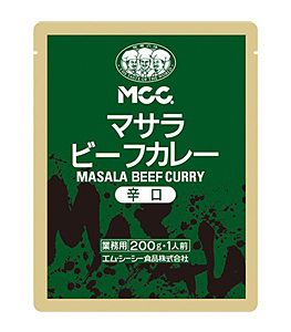 MCC マサラビーフカレー 辛口 200g【イージャパンモール】