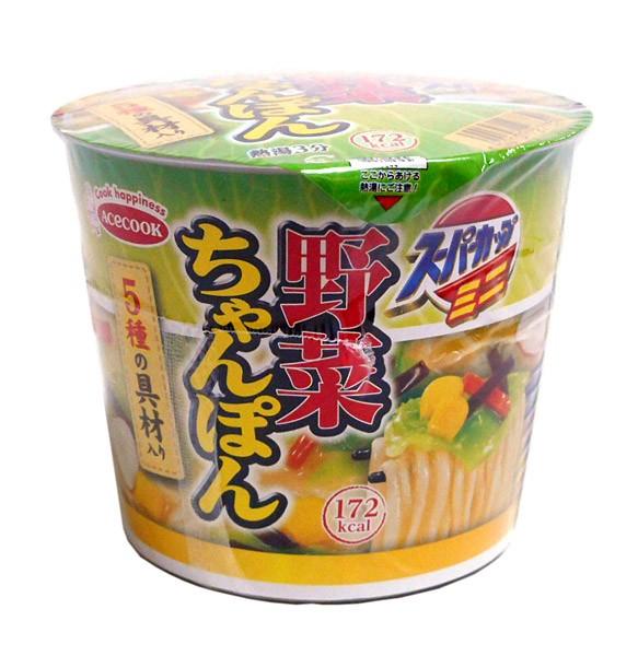 エースコック スーパーカップミニ野菜チャンポン 42g【イージャパンモール】