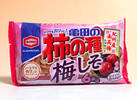 亀田 柿の種梅しそ6P <182g>【イージャパンモール】