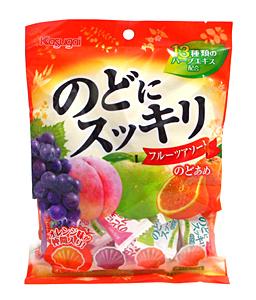春日井 のどにスッキリフルーツアソート 118g【イージャパンモール】