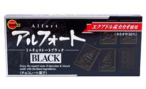 ブルボン アルフォートミニチョコレート ブラック 12個【イージャパンモール】