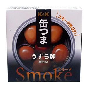 K&K 缶つまSmokeうずら卵 25g【イージャパンモール】