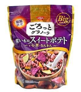 日清シスコ ごろっとグラノーラ紫いものスイートポテト 450g【イージャパンモール】