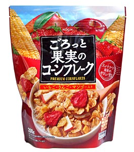 日清シスコ ごろっと果実のコーンフレーク 200g【イージャパンモール】