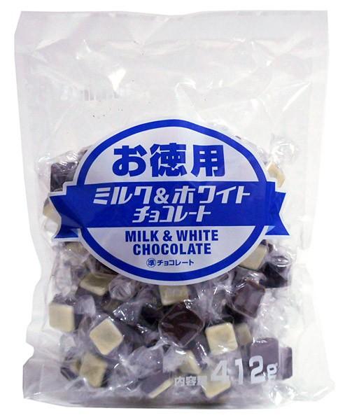 大一 お徳用ミルク&ホワイトチョコレート412g【イージャパンモール】