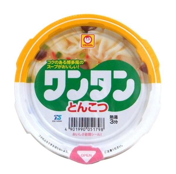 東洋水産 ミニカップワンタン とんこつ味【イージャパンモール】