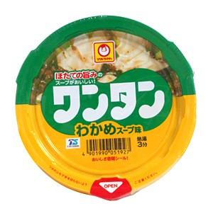 東水 ミニカップワンタン わかめスープ味【イージャパンモール】