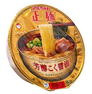 マルちゃん正麺カップ 芳醇こく醤油味111g【イージャパンモール】