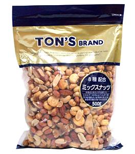TON'S ミックスナッツ 500g【イージャパンモール】