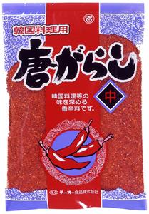 テーオー 韓国料理用唐辛子(中) 250g【イージャパンモール】