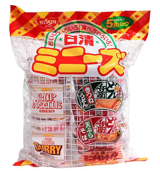 日清食品 ミニーズ 5食パック【イージャパンモール】
