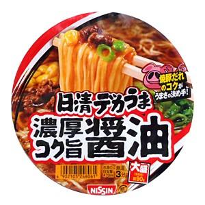 日清 デカうま 濃厚コク旨醤油 116g【イージャパンモール】