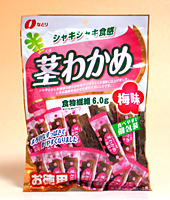 なとり 茎わかめ梅味117g【イージャパンモール】
