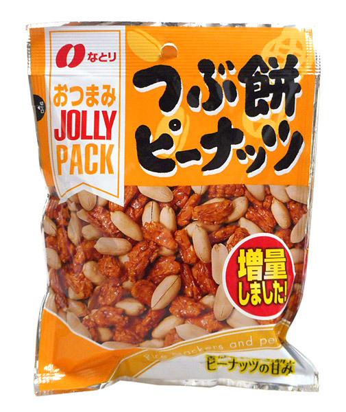 なとり JOLLYPACKつぶ餅ピーナッツ90g   【イージャパンモール】