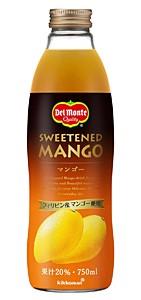 Del マンゴージュース 瓶 750ML【イージャパンモール】