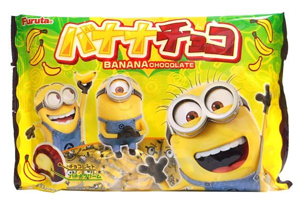 フルタ バナナチョコ 怪盗グルーシリーズ 18個【イージャパンモール】