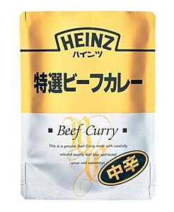 HEINZ 特選ビーフカレー グルメタイプ 210g【イージャパンモール】