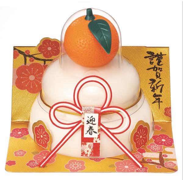 【鏡餅】【G-102】たいまつ お鏡餅橙160g(パッと鏡開き)
