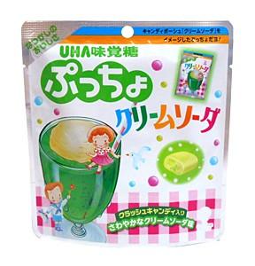 UHA味覚糖 ぷっちょ クリームソーダ 62g【イージャパンモール】