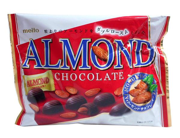 名糖 アーモンドチョコレート22粒【イージャパンモール】