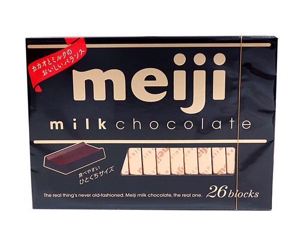 明治 ミルクチョコレートBOX26枚120g【イージャパンモール】