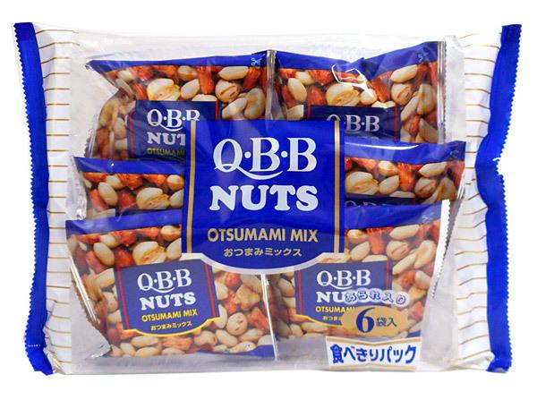 六甲バター QBBおつまみミックス6袋(138g)【イージャパンモール】