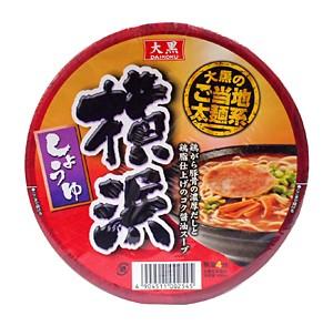 大黒 DAIKOKUご当地太麺系横浜しょうゆ 110g【イージャパンモール】