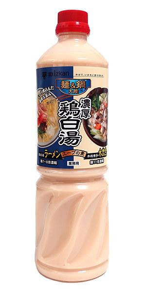 ミツカン 麺&鍋大陸 濃厚鶏白湯 1.11L【イージャパンモール】