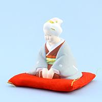 長寿お福さん(小)【返品・交換・キャンセル不可】【逸品館】