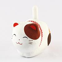 ゆらゆらソーラー猫 ミケ【返品・交換・キャンセル不可】【逸品館】