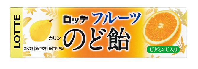 ★まとめ買い★ ロッテ商事 フルーツのど飴 ×10個【イージャパンモール】