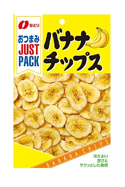 ★まとめ買い★ なとり JPバナナチップス新 ×10個【イージャパンモール】