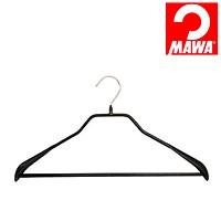 MAWA(マワ)社 5本セット マワハンガー 滑らないハンガー ニューボディーフォーム スーツ用 ブラック【代引不可】【日用品館】