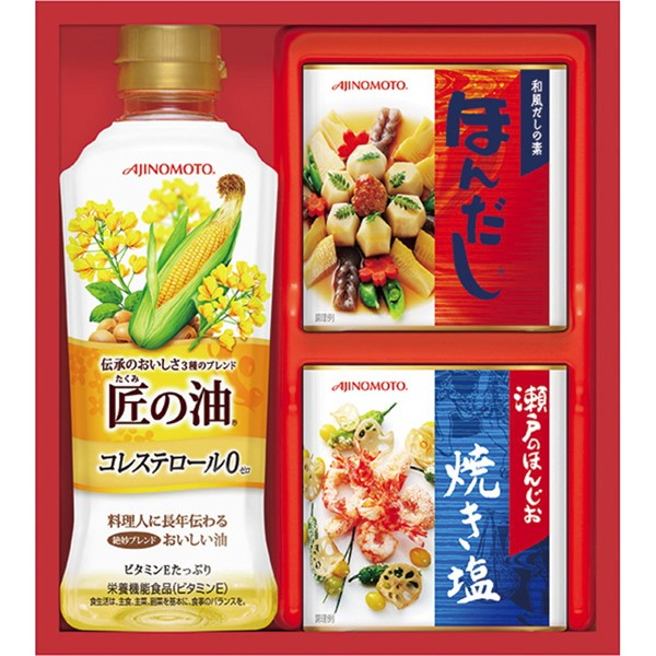 【送料無料】味の素 バラエティ調味料ギフト A−10C【代引不可】【ギフト館】