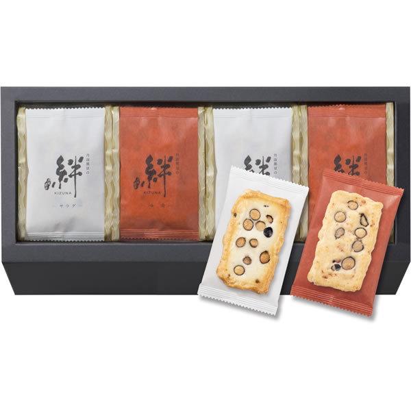【送料無料】百菓匠まえだ 丹波黒豆おかき 絆 M−20【ギフト館】