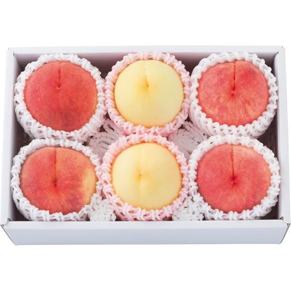 【送料無料】三大産地の桃 味の食べ比べ BF−1810136【代引不可】【ギフト館】