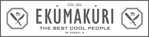 EKUMAKURI ロゴ