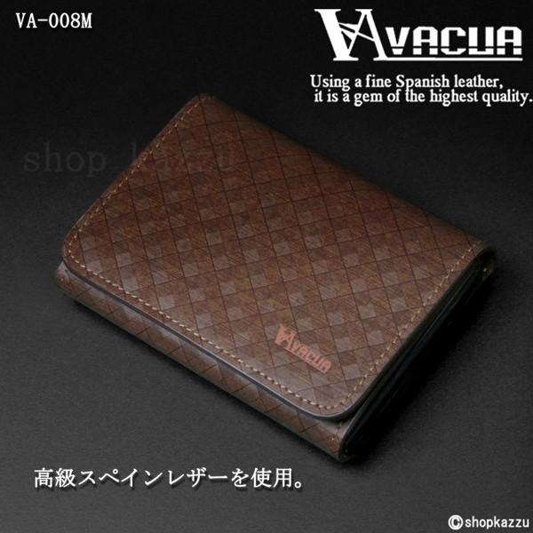 名刺入れ メンズ VACUA ヴァキュア スペインレザー 牛革 メッシュ カードケース