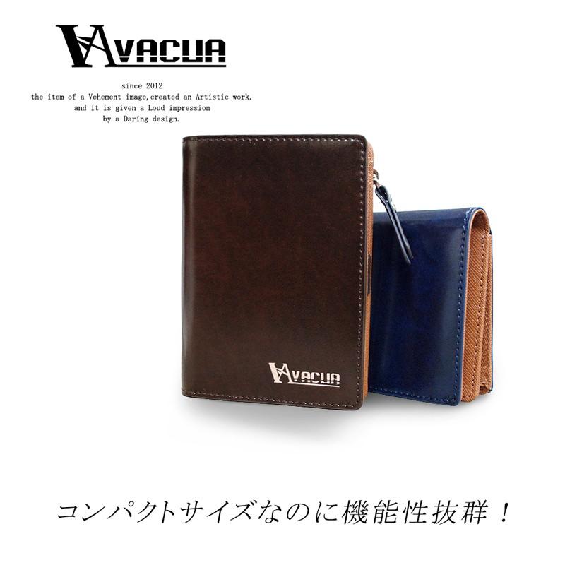 財布 メンズ 二つ折り財布 VACUA 財布さいふサイフ 二つ折り