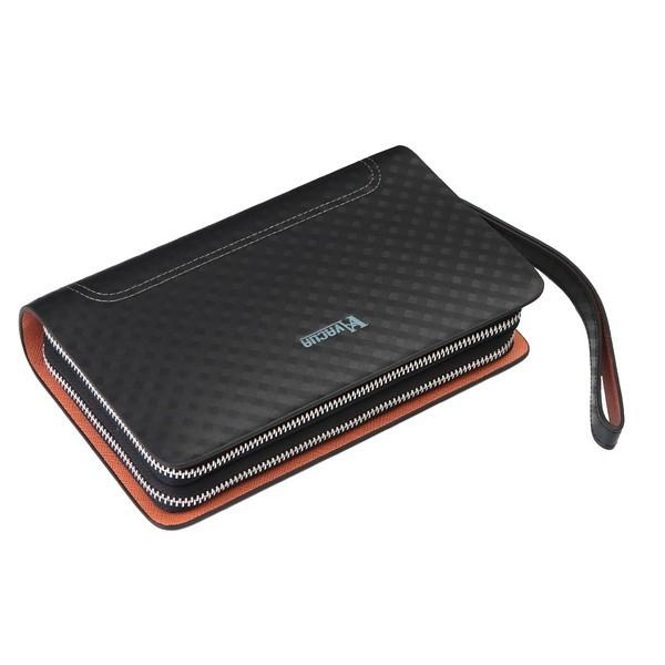 VACUA ヴァキュア セカンドバッグ クラッチバッグ メンズ メンズセカンドバッグ バッグ 鞄 本革 スペインレザー レザー ダブルファスナー メッシュ VA-004|el-diablo|18