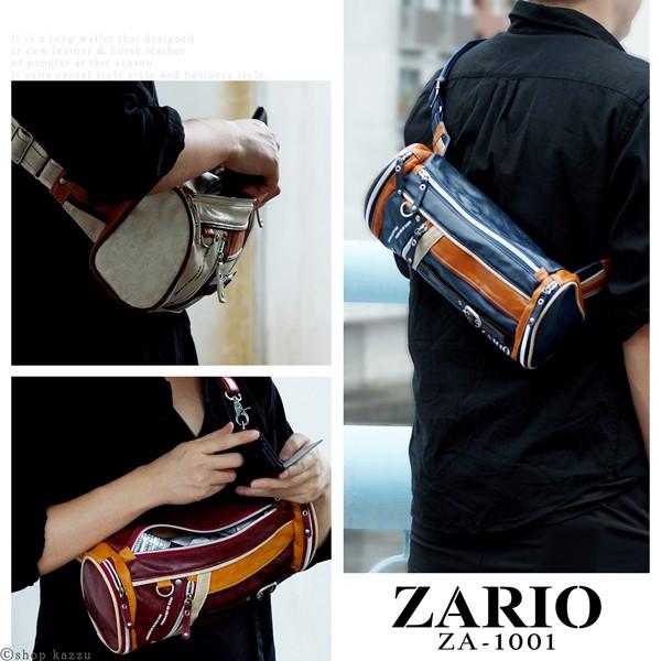 ボディバッグ メンズ ZARIO ザリオ フロントラインシリーズ