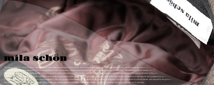 mila schon ミラショーンのブランドページです。