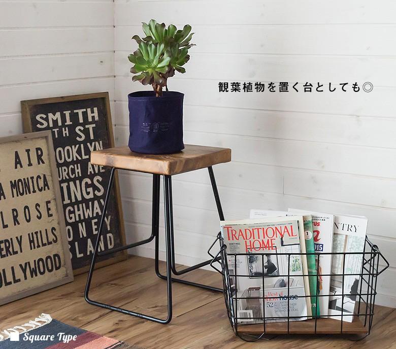 ガーデニング用品・観葉植物を置く台としてもおすすめ