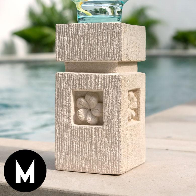 パラス石のアジアン石柱[M]