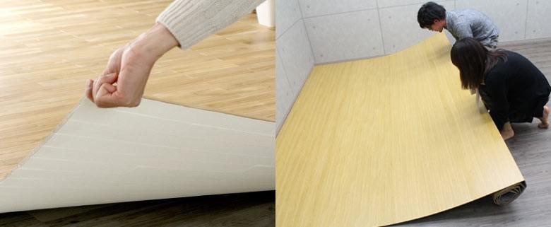 天然木 無垢材のウッドカーペット 抗菌加工でお子様やペットも安心