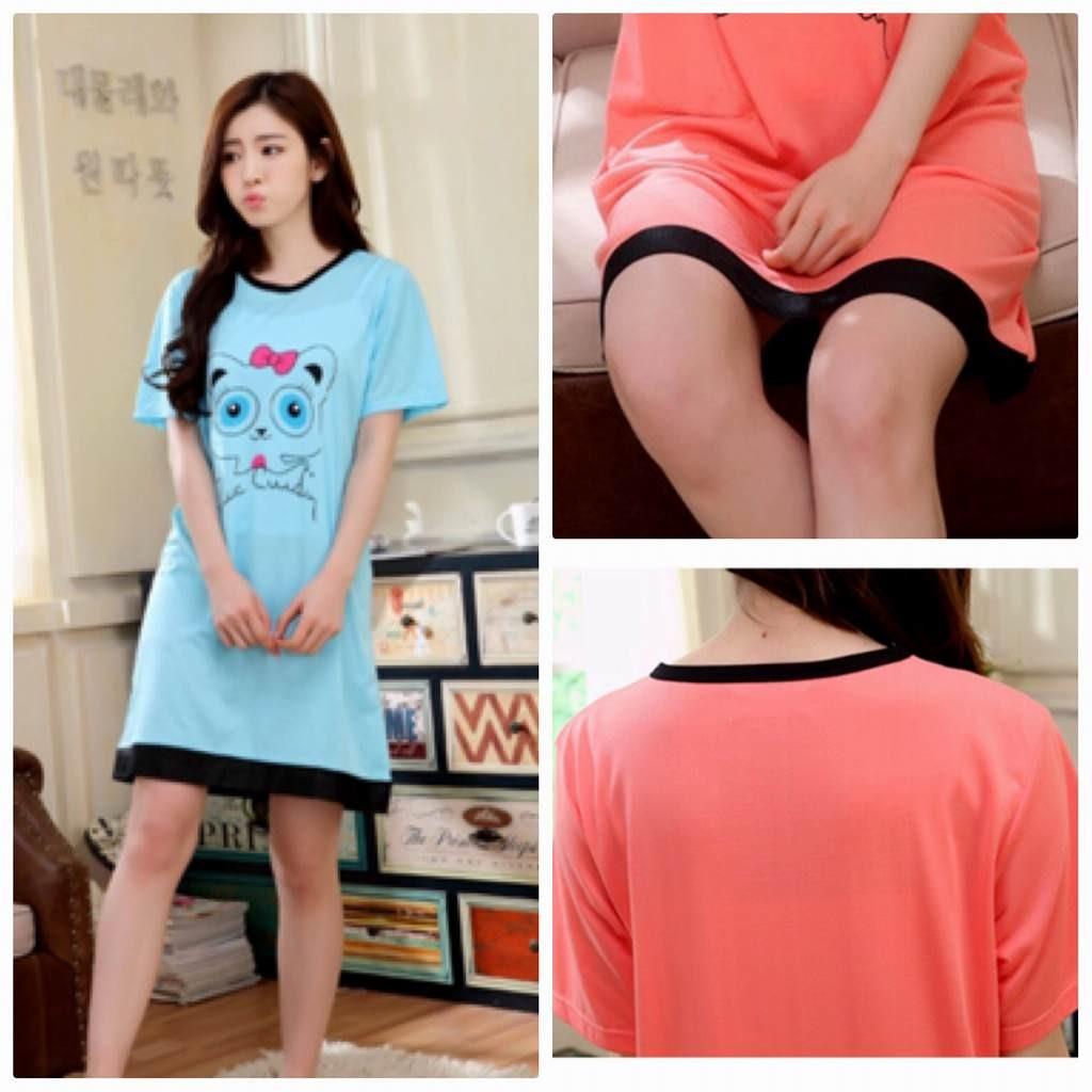 エルネフジャパン - レディース パジャマ ナイトウェア 半袖 tシャツ