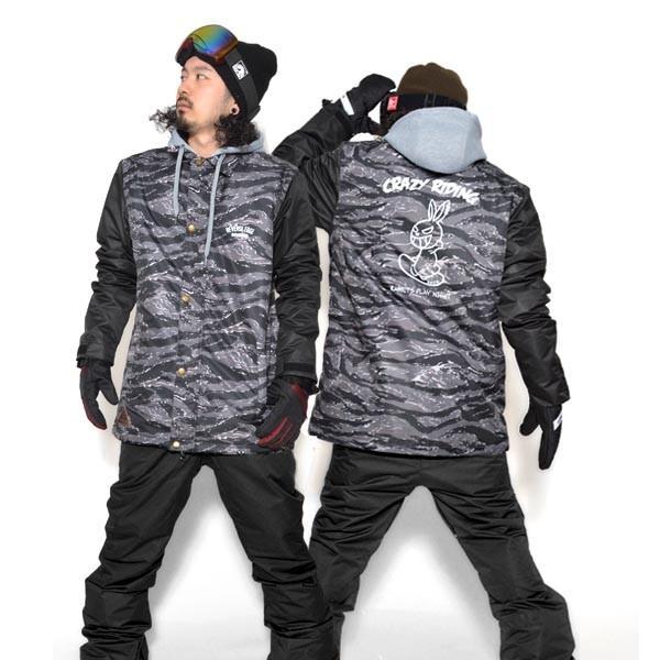 送料無料 スノーボードウェア メンズ Coach Jacket コーチジャケット バックプリント スノーボード ウェア スノボ SNOWBOARD JACKET 17-18 2017-2018冬新作|elephant|29